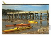 Kayaks By The Pier Carry-all Pouch