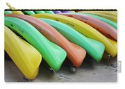 Kayaks In A Row Carry-all Pouch