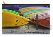 Kayaks Stacked Carry-all Pouch