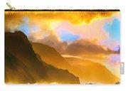 Ke'e Beach Sunset Carry-all Pouch