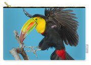 Keel-billed Toucan About To Land Carry-all Pouch