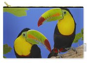 Keel-billed Toucan Pair Carry-all Pouch