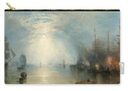 Keelmen Heaving In Coals By Moonlight Carry-all Pouch by Joseph Mallord William Turner