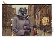 Keeshond Art Canvas Print Carry-all Pouch