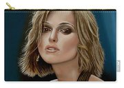 Keira Knightley Carry-all Pouch by Paul Meijering