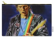 Keith Richards Of Rolling Stones Carry-all Pouch