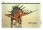 Kentrosaurus Dinosaur Carry-all Pouch by Bob Orsillo