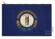 Kentucky State Flag Carry-all Pouch by Pixel Chimp
