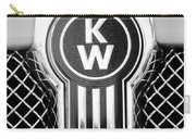 Kenworth Truck Emblem -1196bw Carry-all Pouch