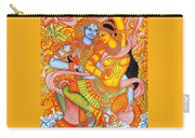 Kerala Fresco Mural Carry-all Pouch