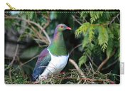 Kerehu - New Zealand Wood Pigeon Carry-all Pouch
