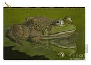 Kermit Carry-all Pouch by Susan Candelario