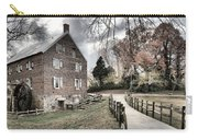 Kerr Grist Mill Stormy Skies Panorama Carry-all Pouch