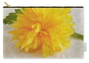 Kerria Japonica Carry-all Pouch by Vix Edwards