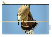 Kestrel On The Tightwire Carry-all Pouch
