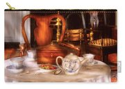 Kettle -  Have Some Tea - Chinese Tea Set Carry-all Pouch by Mike Savad