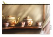 Kettle - My Grandmother's Chinese Tea Set  Carry-all Pouch by Mike Savad