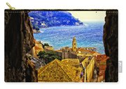 Key Hole View Of Dubrovnik 2 Carry-all Pouch