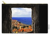 Key Hole View Of Dubrovnik Carry-all Pouch