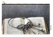 Key Ring Carry-all Pouch