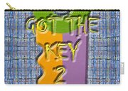 Key To Happiness Carry-all Pouch by Patrick J Murphy