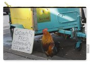 Key West - Rooster Making A Living Carry-all Pouch