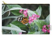 Key West Butterfly Conservatory - Monarch Danaus Plexippus 2 Carry-all Pouch
