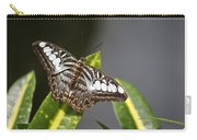Key West Butterfly Conservatory - In Brown And White Carry-all Pouch