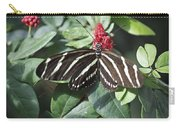 Key West Butterfly Conservatory - Zebra Heliconian Carry-all Pouch