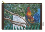 Key West Lighthouse Rooster Carry-all Pouch