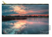 Keyport Nj Sunset Reflections Carry-all Pouch