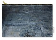 Keys On Stone Floor Carry-all Pouch by Jill Battaglia