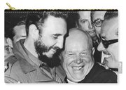 Khrushchev And Castro Carry-all Pouch