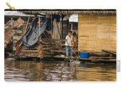 Kids At Play In Shanty Town Carry-all Pouch
