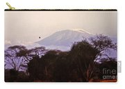 Kilimanjaro In The Morning Carry-all Pouch