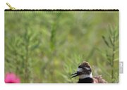 Killdeer And Tennessee Coneflowers Carry-all Pouch