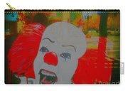 Killer Clowns In Fresco Carry-all Pouch