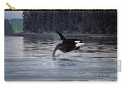 Killer Whale Orcinus Orca Breaching Carry-all Pouch
