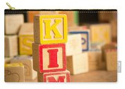 Kim - Alphabet Blocks Carry-all Pouch