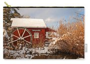 Kimberton Mill After Snow Carry-all Pouch