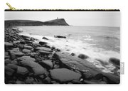 Kimmeridge Bay In Black And White Carry-all Pouch