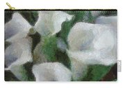 Kim's Flowers Carry-all Pouch