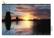 Kinderdijk Sunrise Carry-all Pouch