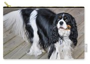 King Charles On The Boardwalk Carry-all Pouch