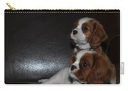 King Charles Puppies Carry-all Pouch