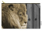 King In Sepia Carry-all Pouch