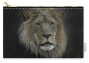 King Of Beasts Portrait Carry-all Pouch