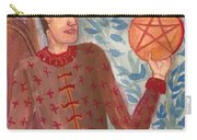 King Of Pentacles Carry-all Pouch
