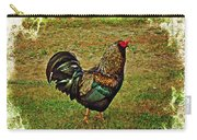 King Of The Hill - Winery Rooster Carry-all Pouch