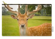 King Of The Spotted Deers Carry-all Pouch